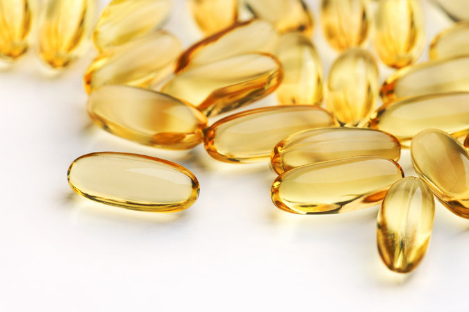 Molecularly Distilled Fish Oil