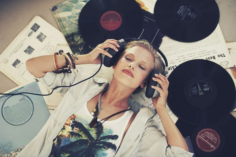 The music – probably the best therapy against stress