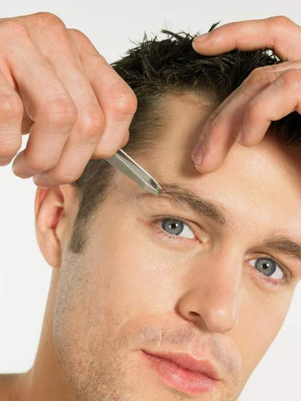 Mens Eyebrow Grooming Techniques